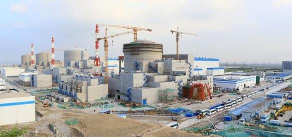 Росатом завершил загрузку топлива на 4-м блоке Тяньваньской АЭС