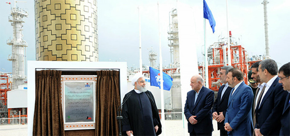 Катар позади. Иран ввел в эксплуатацию 4 фазы газового месторождения Южный Парс