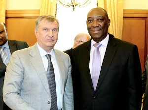 Rosneft planning to open office in Mozambique