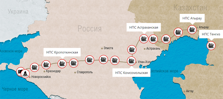 CPC pipeline modernisation to boost transfer of Kazakh oil via Russia