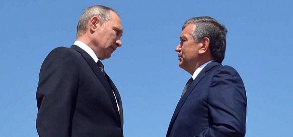 Президенты Путин и Мирзиеев обсудили работу ЛУКОЙЛа в Узбекистане