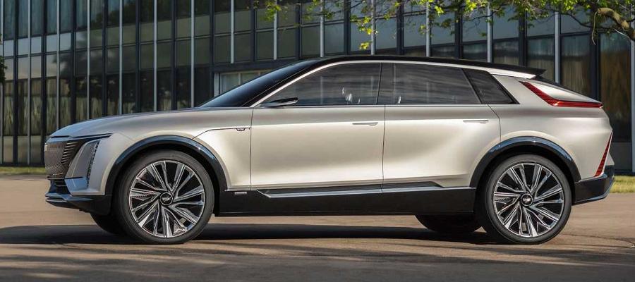 Электрокар премиум-класса. Cadillac представил новый электромобиль - внедорожник
