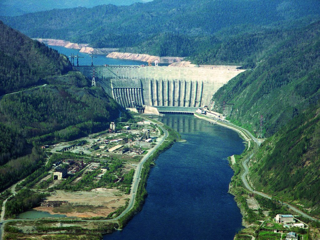 В. Путин запустил новый гидроагрегат Саяно-Шушенской ГЭС. Но как эффектно  запустил!
