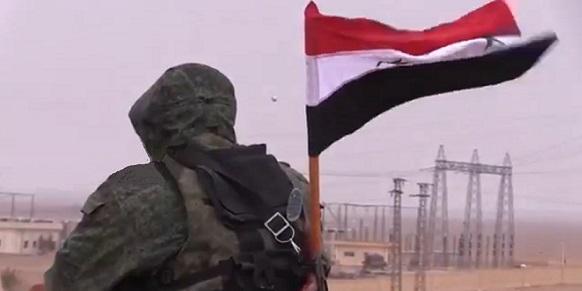 Бойцы Сирийской армии отбили у боевиков ИГИЛ тепловую электростанцию южнее г Пальмиры