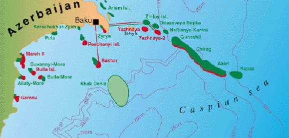BP-Azerbaijan ощутимо снизил добычу газа на месторождении Шах-Дениз на шельфе Каспия