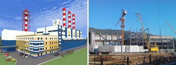 Продолжается строительство ТЭЦ «Восточная» во Владивостоке. Монтируется блок подготовки топливного газа