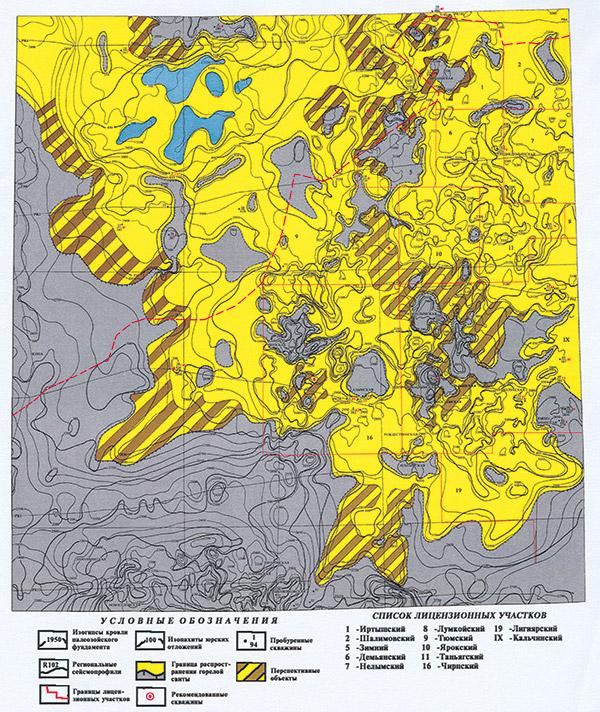 Нижнеюрские отложения – основной объект поиска углеводородных скоплений в Тобольско-Фроловской зоне