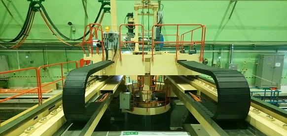 На энергоблоке №5 Нововоронежской АЭС введена в эксплуатацию новая перегрузочная машина