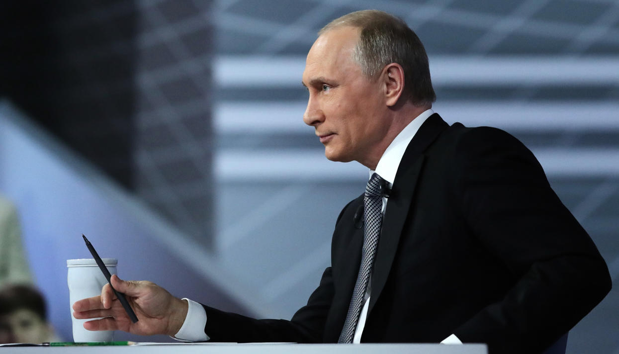 Vladimir Putin launched the commercial operation of the Vostochno-Messoyakhskoye oilfield