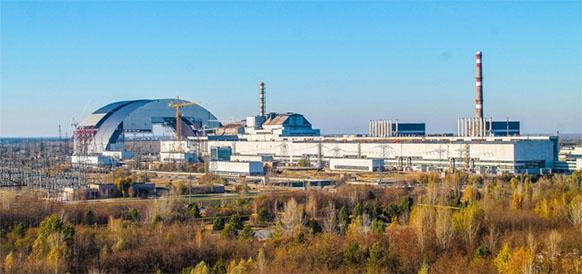 Chernobyl undergoes revamp as solar energy farm