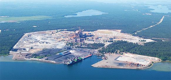 Прибыли! 1-я партия труб для строительства газопровода Северный поток-2 доставлена в Финляндию