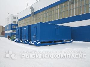 Мобильные здания от Рыбинсккомплекс – это теплое и удобное жилье для вахтовиков