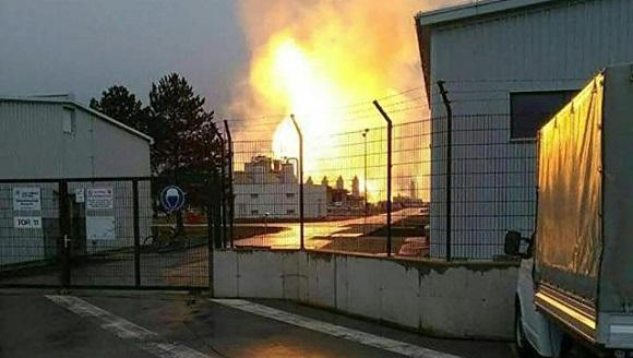 В австрийском газовом хабе Баумгартен произошел взрыв. Транзитные поставки российского газа в Италию, Словению и Венгрию прерваны