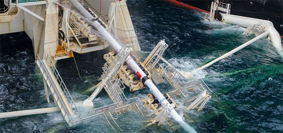 Half of TurkStream offshore section installed