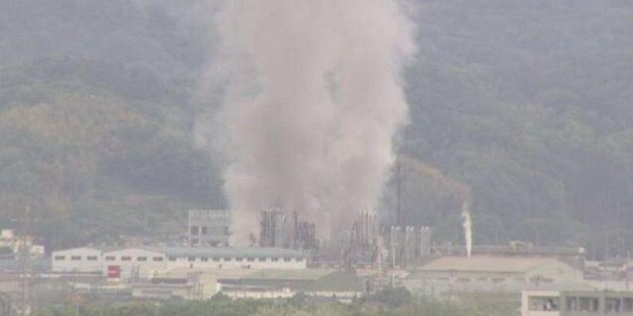 В Японии произошел взрыв на химическом заводе Sakai Chemical Industry