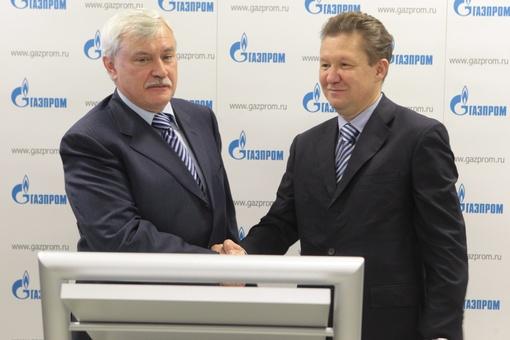 Газпром и г Санкт-Петербург продолжат в 2016 г тесное сотрудничество. Планов много