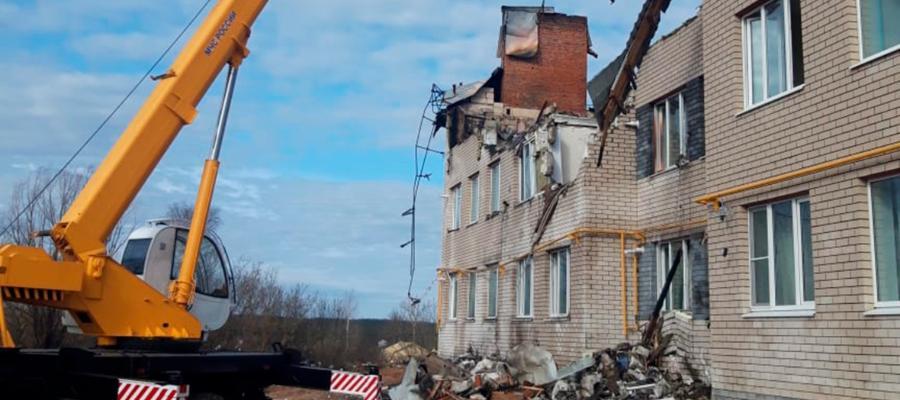 В жилом доме в с. Маргуша Нижегородской области произошел взрыв газа. Задержаны сотрудники газовой службы