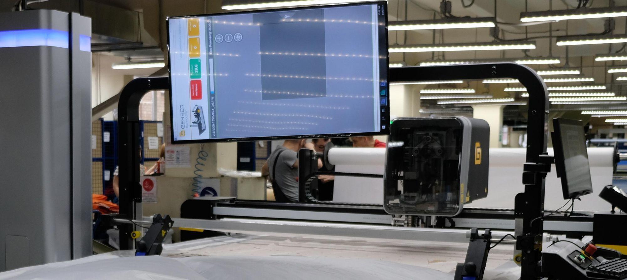 На производстве ГК «Энергоконтракт» запущен новый раскройный комплекс