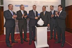Capacity of Katharina UGS facility increased 1.5 times