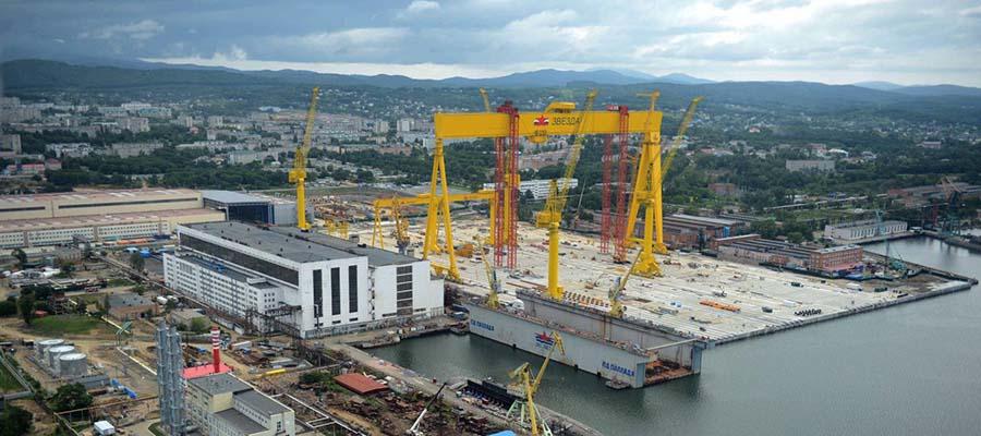 Д. Мантуров: субсидия на строительство 15 газовозов на верфи Звезда может составить 50 млрд руб.