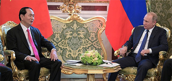 Russia-Vietnam agree on $10 billion in bilateral investment