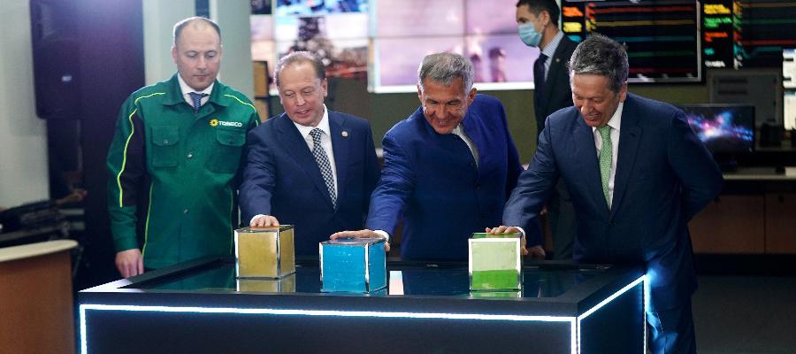 На ТАНЕКО запущены 3 новые установки - каткрекинга, водорода и производство масел