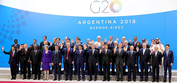 G20. В. Путин подтвердил разворот политики России на Восток и договорился с Саудовской Аравией о продлении соглашения ОПЕК+