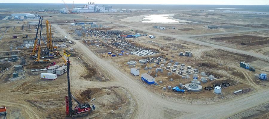 Строительство ГХК в Атырауской области Казахстана переходит в активную фазу