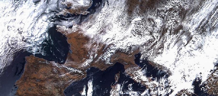Опубликован первый снимок арктического региона, сделанный спутником «Арктика-М»
