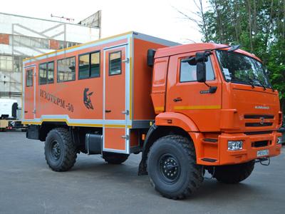 Вахтовый автобус ИЗОТЕРМ от производителя ЗАО «МПЗ»: успешный запуск в поточное производство