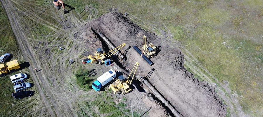 На газопроводе Омск - Новосибирск завершились огневые работы