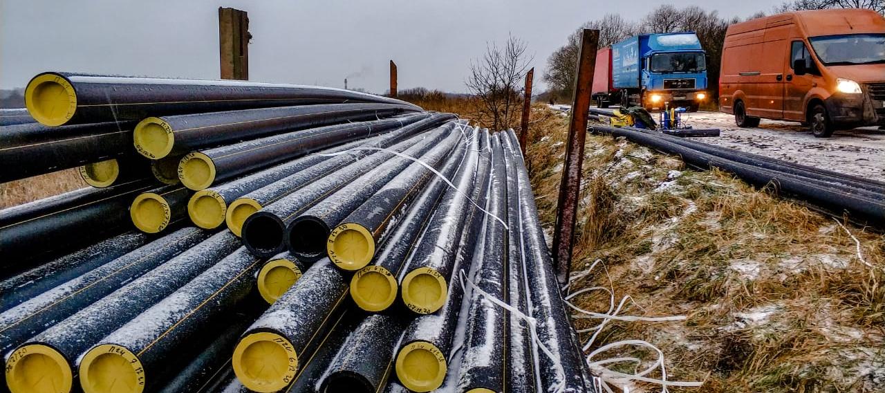 Начаты работы по строительству газопровода к котельной военного городка микрорайона Остров-3 Псковской области