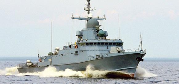 В Санкт-Петербурге спущен на воду малый ракетный корабль нового поколения «Буря»