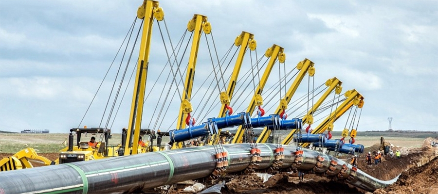 Saryarka gas pipeline construction to be finished in December, will begin supplying gas in 2020