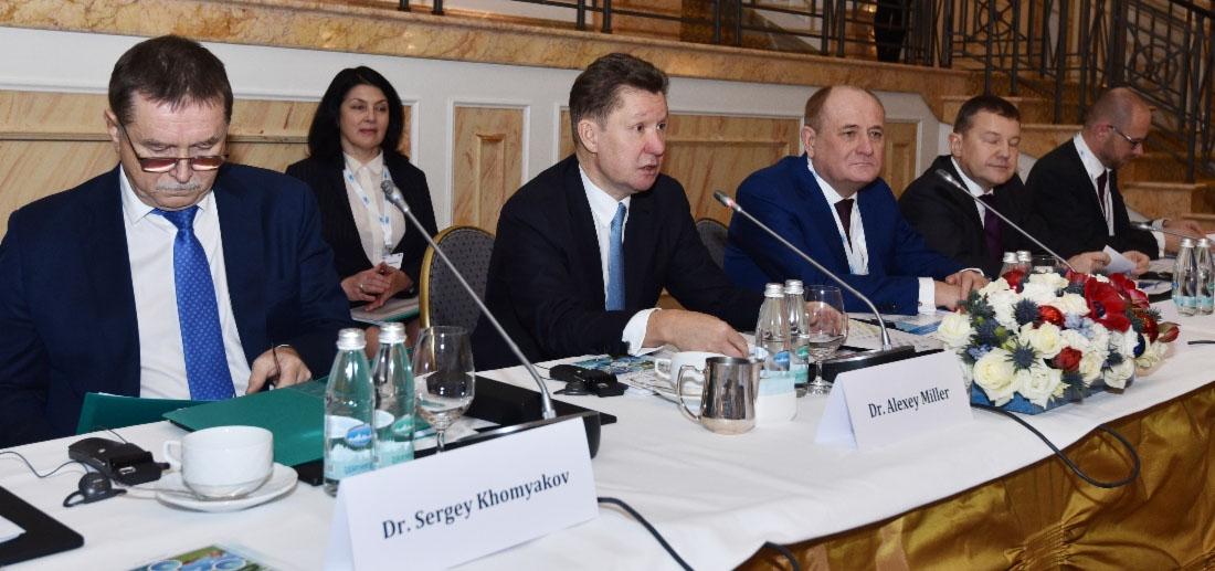 А. Миллер в Питере провел очередное заседание Президиума Международного делового конгресса