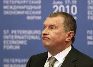 Rosneft President Increases Stake in Charter Capital
