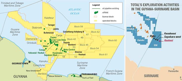 Total не прогадала. На шельфе Суринама компания открыла новые залежи углеводородов