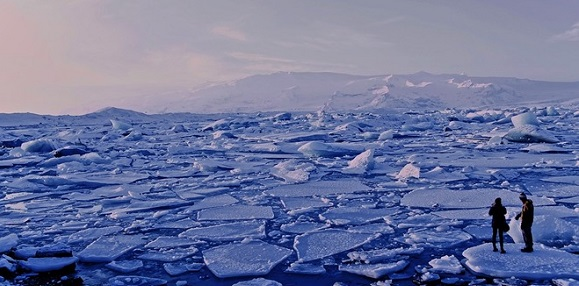 Экспедиция Хатанга-Зима-2017: Роснефть провела оценку пространственного распределения ледяных образований в Арктике
