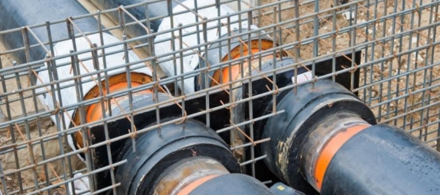 На юге Волгограда прорвало газовую трубу