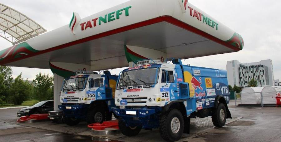 Татнефть и КАМАЗ запустят совместную сеть СПГ-заправок