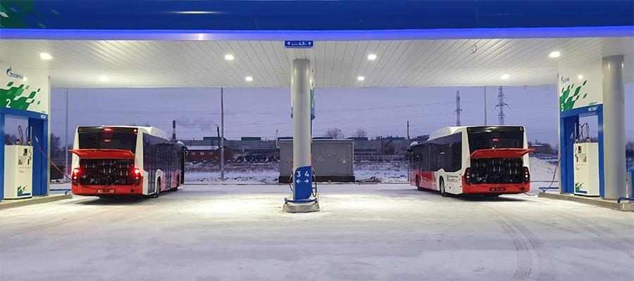 Газозаправочная сеть Газпрома в республике Башкортостан пополнилась еще 1 АГНКС