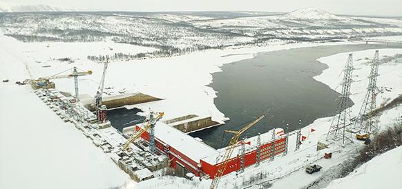 Ввод 3-го энергоблока Усть-Среднеканской ГЭС запустит строительство промышленных объектов