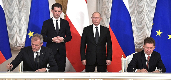 OMV and Gazprom sign a basic sale agreement regarding Achimov IV and V phase development in the Urengoy gas and condensate field