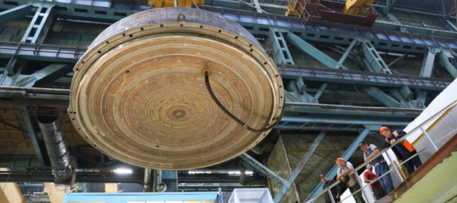 Корпус реактора МБИР прошел гидравлические испытания