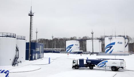 Gazprom Neft opens alternative refuelling complex at Sheremetyevo