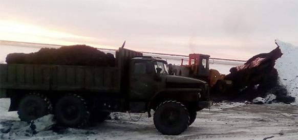 По автозимнику! В Якутии продолжается завоз угля в отдаленные населенные пункты Оймяконского и Усть-Майского районов