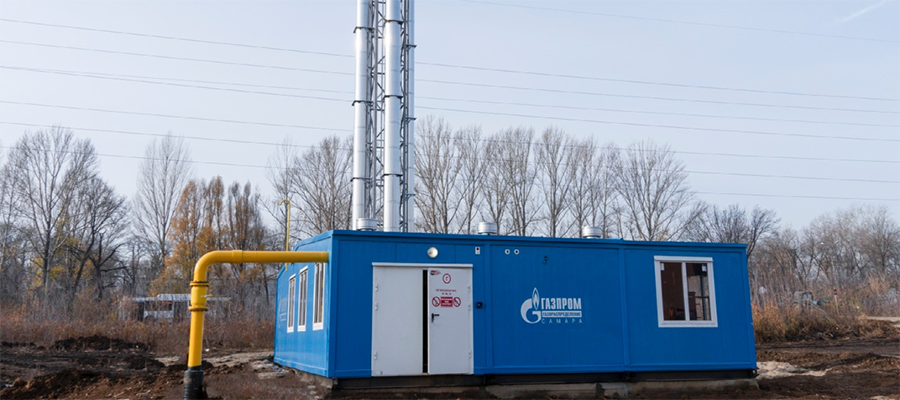Газпром газораспределение Самара обеспечил пуск газа в школьную котельную микрорайона Новая Самара