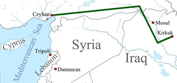 Ирак ищет пути для экспорта нефти. Планируется строительство нового участка нефтепровода до порта Джейхан в Турции