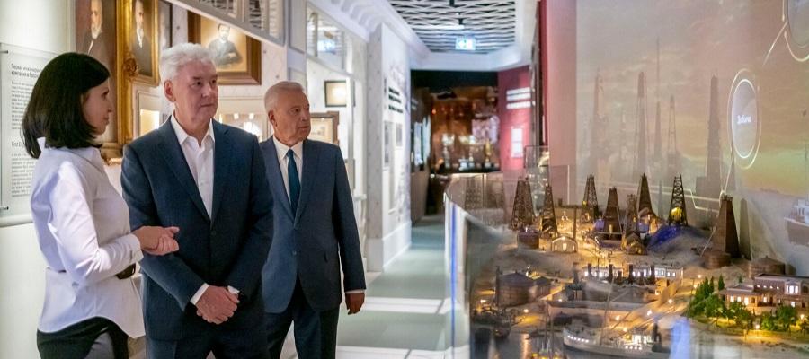 В центральном офисе ЛУКОЙЛа в Москве открыт новый музей