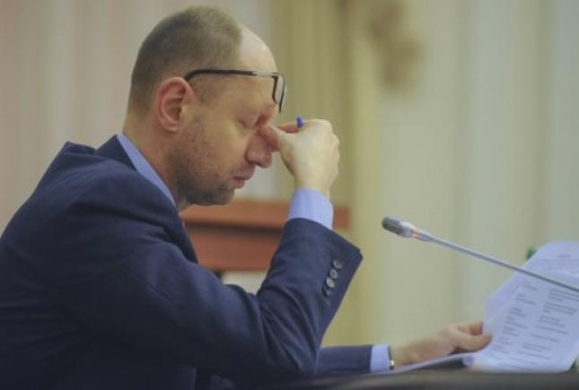 А.Яценюк. Украина будет платить за газ 268 долл США/1000 м3. Мнение Газпрома нас не интересует
